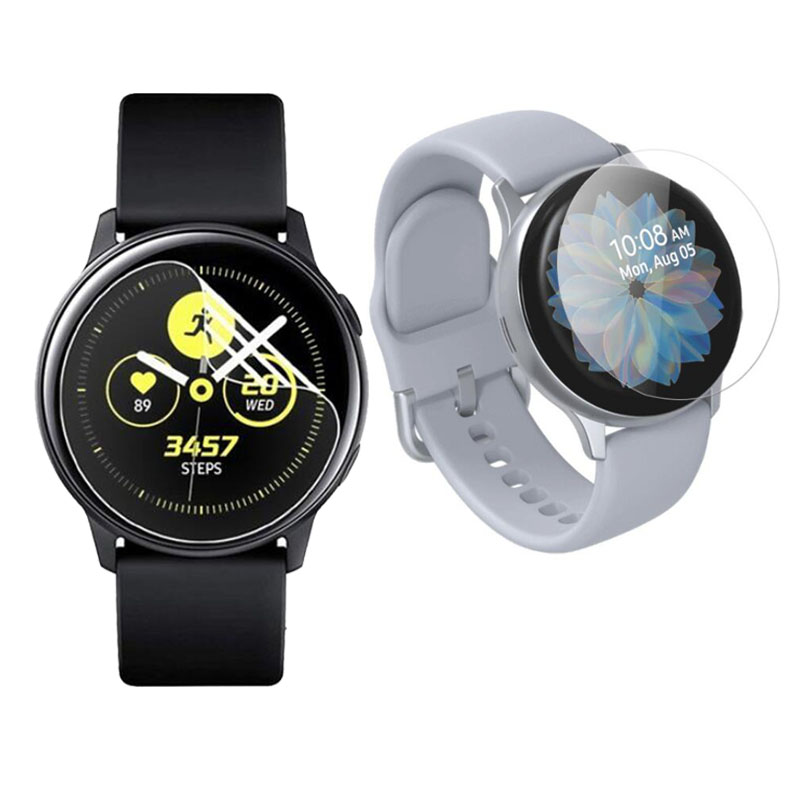 5pcs TPU Soft Protective Film Cover For Samsung Galaxy Watch Active 2 40mm/44mm Active2 SmartWatch Screen Protector Protection