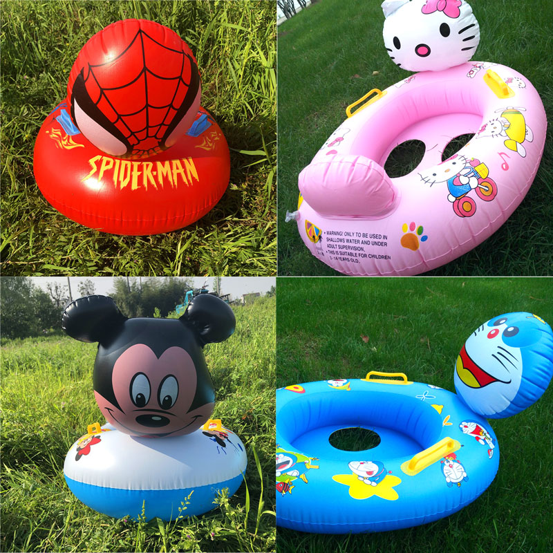 Children's Swimming Ring Animal Seat Ring Baby & Kids' Floats Toys For Children
