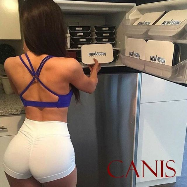 Sexy Women's Sports Shorts Athletic Gym Workout Fitness 2019 sportswear ladies solid shorts 4