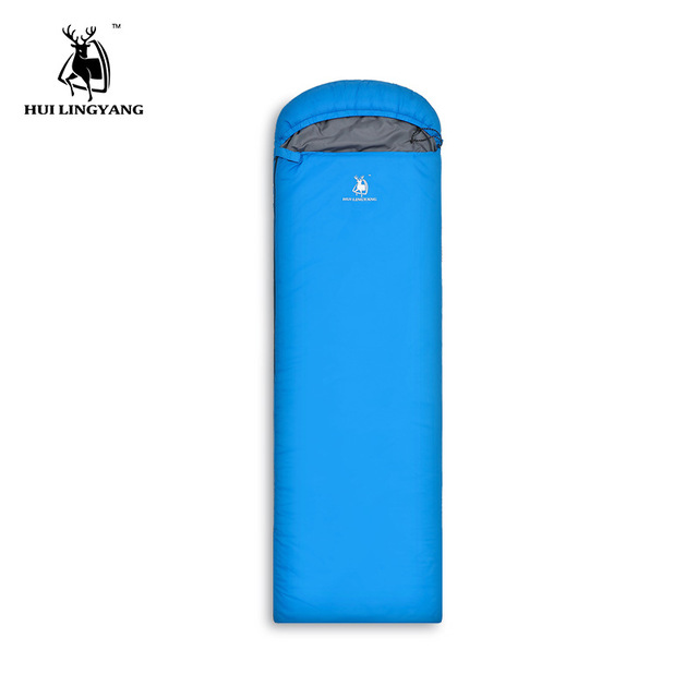 HUILINGYANG Outdoor Products 1 Person Spring, Summer And Autumn Envelopes Down Cotton Sleeping Bag 0.95KG