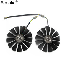 Free Shipping T129215SM 95mm Cooler Fan For ASUS STRIX RX 470 580 570 GTX 1050Ti 1070Ti 1080Ti Gaming Video Card Cooling Fan