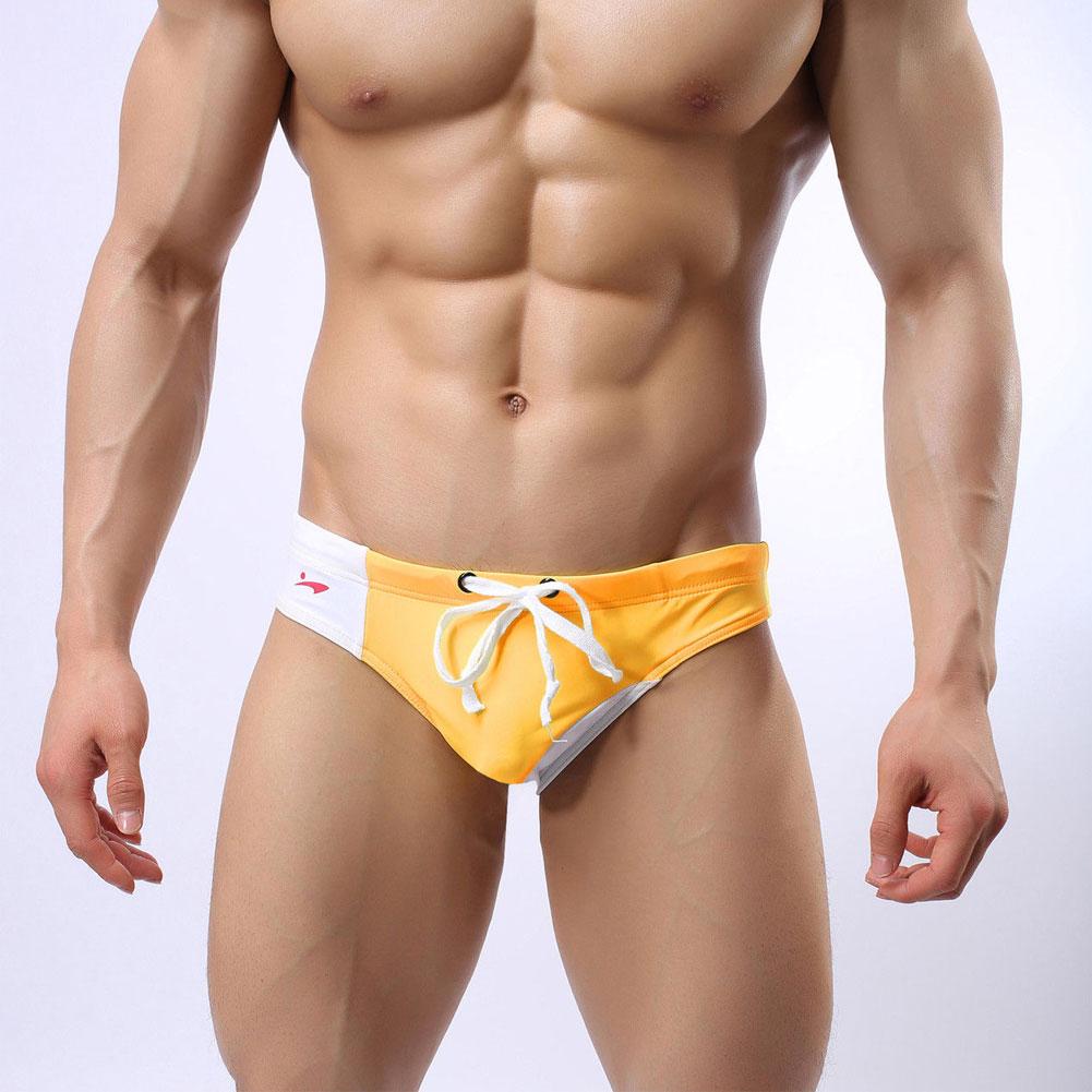 Man Swimwear Beach Short Surf Swimming Trunks Soft Sexy Briefs Breathable Aussie Style Swimsuit