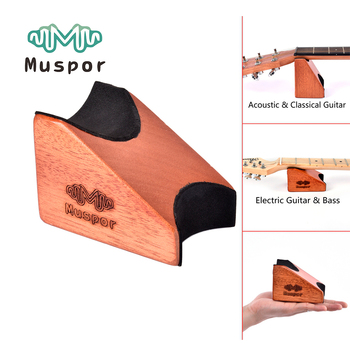 Muspor 2 in 1 Guitar Neck Rest Stand Support Pillow Electric Acoustic Classical Bass Mat Luthier Workstation Setup Tool