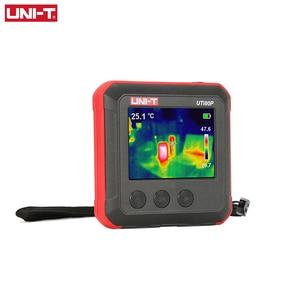 Image 2 - Mini caméra dimagerie thermique à infrarouge (UTi80P), compacte, détection de la température industrielle et du chauffage pour les sols, UNI T