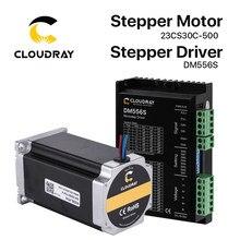 Cloudray Nema 23 Open Loop Schrittmotor Kit 2 Phase 3N.m 5,0 EIN 23CS30C-500 + DM556S für 3D drucker CNC Gravur Fräsen Maschine