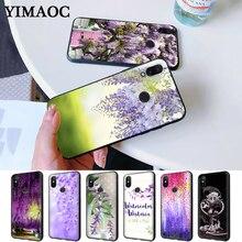 Wisteria Flowers Night Silicone Case for Redmi Note 4X 5 Pro 6 5A Prime 7 8