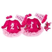 Baby Girl Clothes 1 Year Girl Baby Birthday Dress