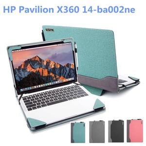 2020 новый ноутбук чехол для ноутбука HP Pavilion X360 14-ba002ne 14 дюймов обложка записной книжки рукав защитный чехол из поликарбоната для струйного пр...
