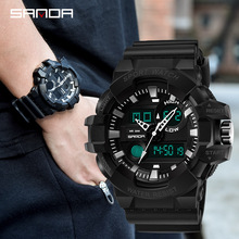 Men Digital Wristwatch Army Military Sport Watch Waterproof Outdoor Pioneer Electronic Clock Flexible Switching Montre Homme цена 2017