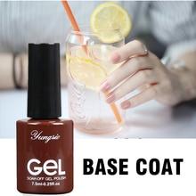Thick Base For Nails Rubber Base Gel UV Varnish Self leveling Long Lasting For Foundation Manicure