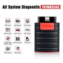 Thinkdiag mais novo mini scanner obd2 bluetooth profissional obd 2 scanner automotivo 15 serviço de restauração easy-diag scanner de diagnóstico
