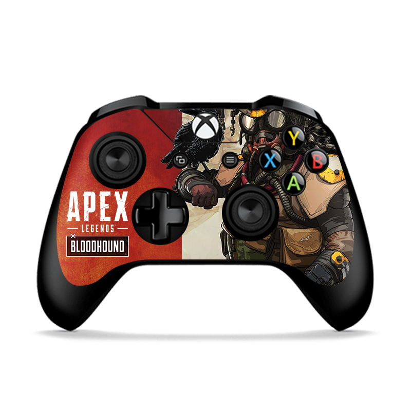 RETROMAX 2pcs Skin Of Apex Legends For Xbox One/Xbox One Slim Controller Sticker Skin For Xbox One/Xbox One Slim Apex 6