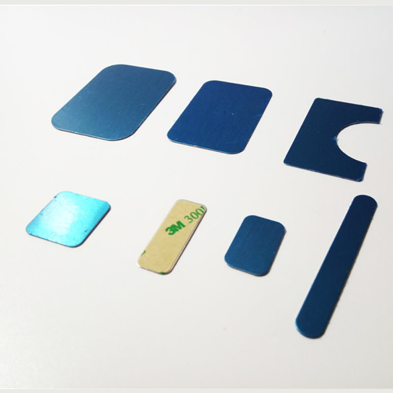 5pcs/lot18 Size Universal Rectangle Round Metal Plate Disk Iron Sheet For Magnet Magnetic Car Mobile Phone Stand Holder