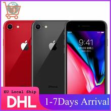 Unlocked Apple iPhone 8 64GB/256GB Hexa-core 4G LTE Phone 3D Touch ID 4.7 inch Fingerprint IOS Apple Original Mobile phone