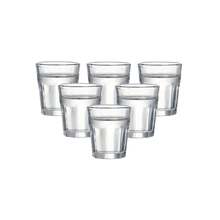 Набор из 6 высококачественных бессвинцовых стеклянных бокал для ликера стеклянные бокалы для напитков для водки 45 мл 1,5 унций