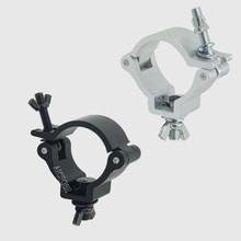 Alumimun liga gancho luzes de palco braçadeira gancho suporte fardo fase ganchos pesados teatro iluminação kit 48-51mm 100kg