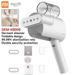 Xiaomi plancha de vapor Delmar de mano máquina de planchar eléctrica plegable portátil hogar plancha de vapor Mini máquina de planchar 5