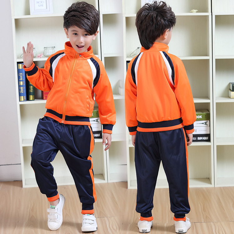 Kindergarten Suit Men And Women Children Business Attire Spring And Autumn Set School Uniform Young STUDENT'S Sports Clothing Cl