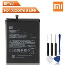 Xiao Mi Originale Batteria Del Telefono di Ricambio BM3J Per Xiaomi 8 Lite MI8 Lite Autentico Batteria Ricaricabile 3350mAh