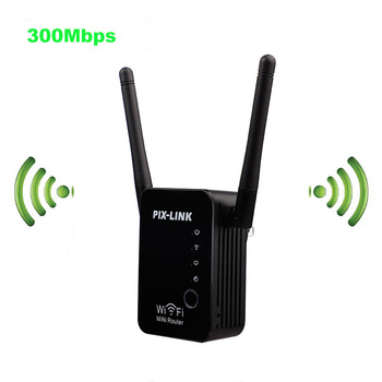 300Mbps Wireless WIFI Router WIFI Repeater Booster Extender Home Network 802.11b/g/n RJ45 2 Ports Wilreless-N Wi-fi