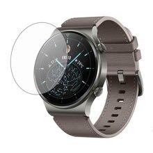 Smartwatch vidro temperado claro película protetora guarda para huawei gt 2 pro gt2 esporte assista tela cheia protetor capa