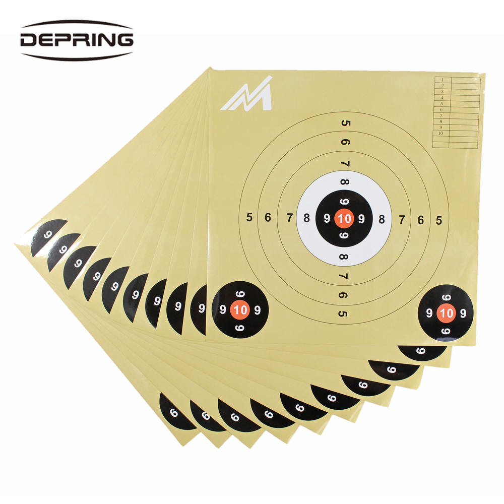 11-inch 10pcs Self Adhesive Splatterburst Targets Sticker Shooting Target Stickers Training Aim Papers For Hunting Accessories