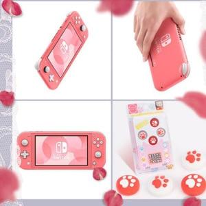 Image 5 - Silikon Thumb çubuk kavrama kap Analog Joystick kapak kılıf Zelda Mario nintendo anahtarı NS Lite JoyCon denetleyici Joy  con Joypad
