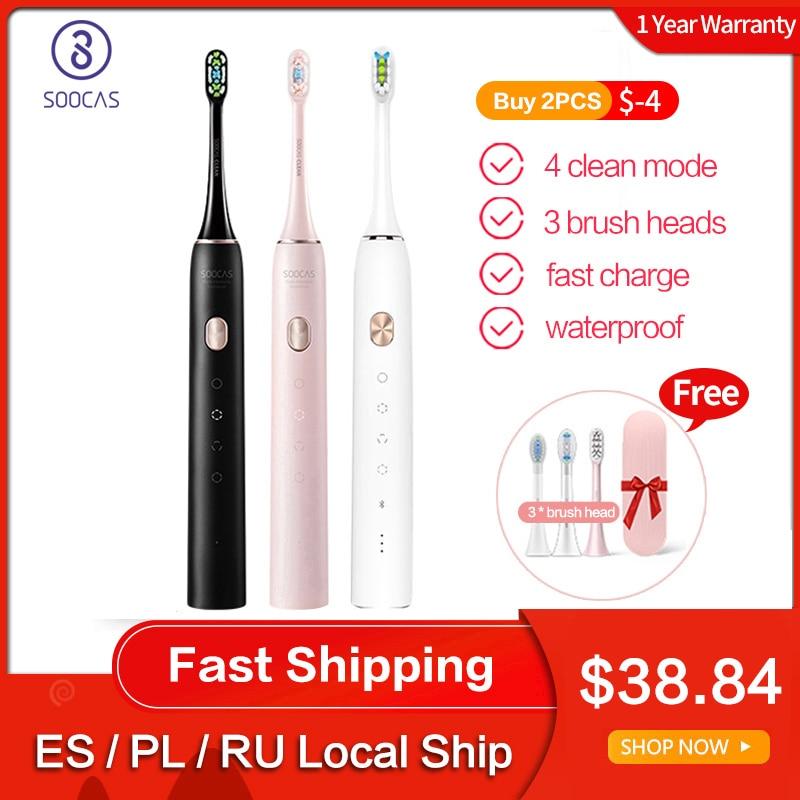 Soocas Electric Toothbrush Sonic X3U Rechargeable Waterproof Adult USB Upgraded Global-Version