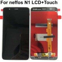 شاشة LCD تعمل باللمس ، ضمان أصلي 100% لـ TP Link Neffos N1 TP908A 5.5 بوصة