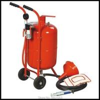 10 gallon sandblaster pot tank,car repair sand blasting machine with portable blasting gun and blasting hose