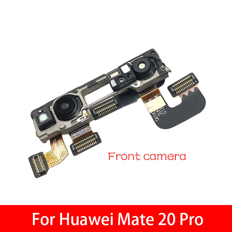 New Small Facing Front Camera + IR Camera Assembly Flex Cable For Huawei Mate 20 Pro Replacement Parts