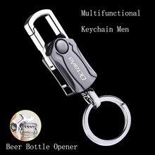 Porte-clés en alliage de Zinc pour hommes, multifonctionnel, ouvre-bouteille de bière, pour Skoda OCTAVIA 2 3 A7 VRS MK2 MK3 a5