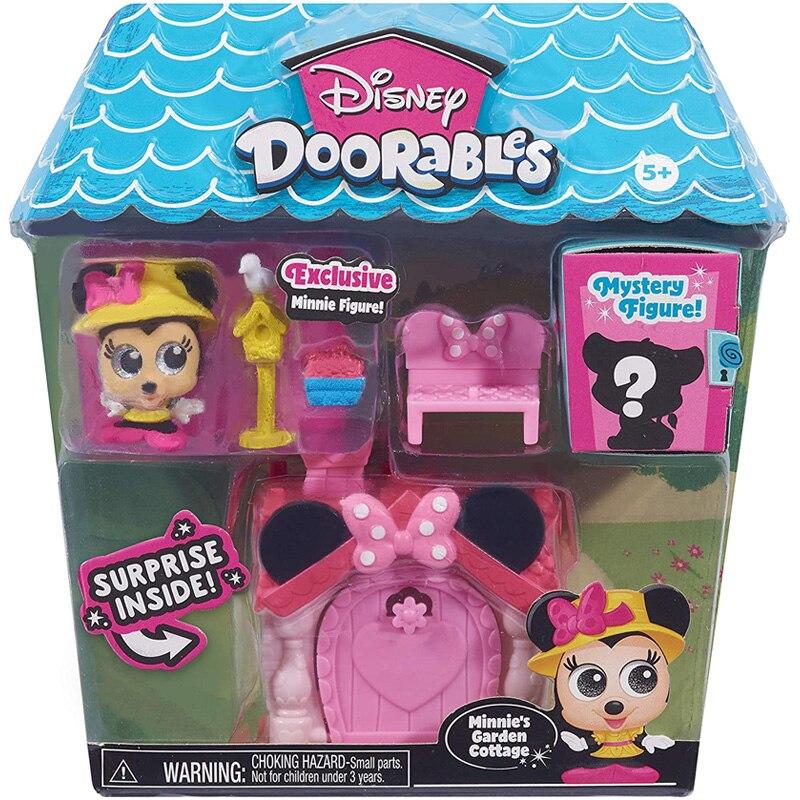 Disney Doorables Frozen Elsa Olal Mickey Minnie Judy Pinocchio Rapunzel Alice Snow White Belle Princess Blind Box Girl Kids Toys 8