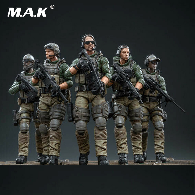 In Stock JoyToy 1//18 USMC Special Forces Set of 5 Action Figures Military Model