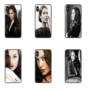 Beauty Maleficent Angelina Jolie For Galaxy Note 4 8 9 10 Plus Pro J6 J7 J8 M30s M80s 2016 2017 2018 Special image