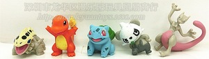 Image 4 - 24 סגנון סט דמויות פיקאצ ו פוקימון איור Pvc פעולה הרבה קריקטורה Pokemoning בובת צעצועים לילדים סרט & טלוויזיה דגם