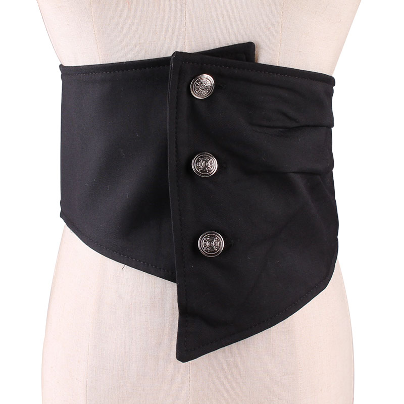 New Product Wide Waist Sealing Woman Cloth Elastic Stretch Fashion Contracted With The Dress