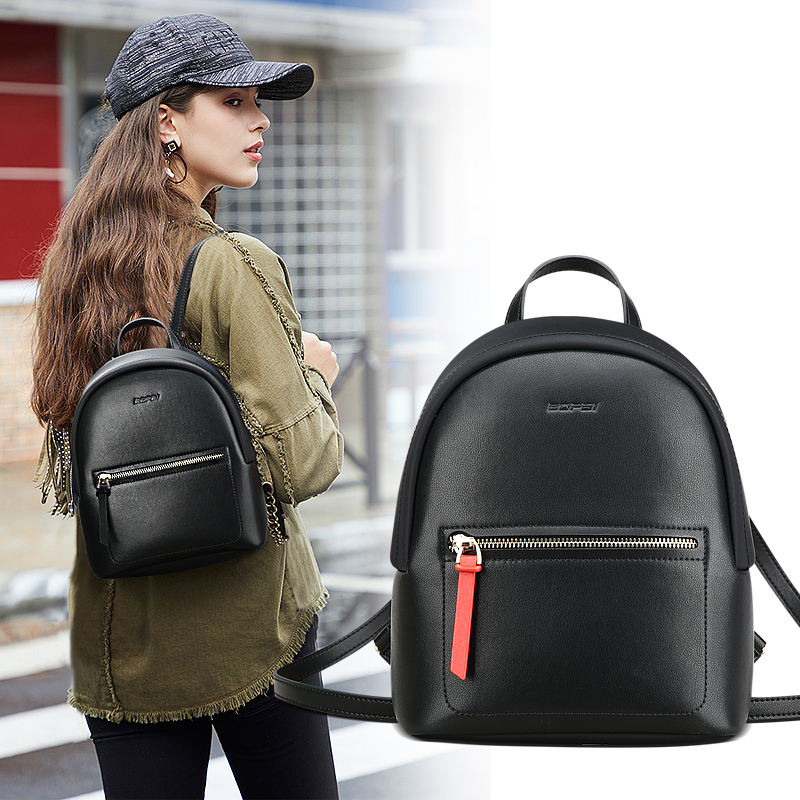 BOPAI Business Backpack Women 2019 New Korean Fashion Joker Casual Mini Backpack Women Bags