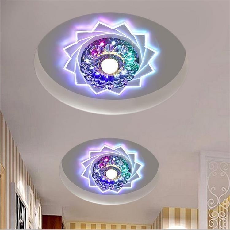 LED Crystal Aisle Lights Corridor Lights Entrance Lights Hallway Lamp Ceiling Lamp Entrance Lights Ceiling Lamp Spotlights