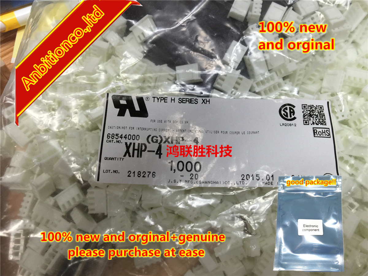 10-100pcs 100% New Original Connector XHP-4  In Stock