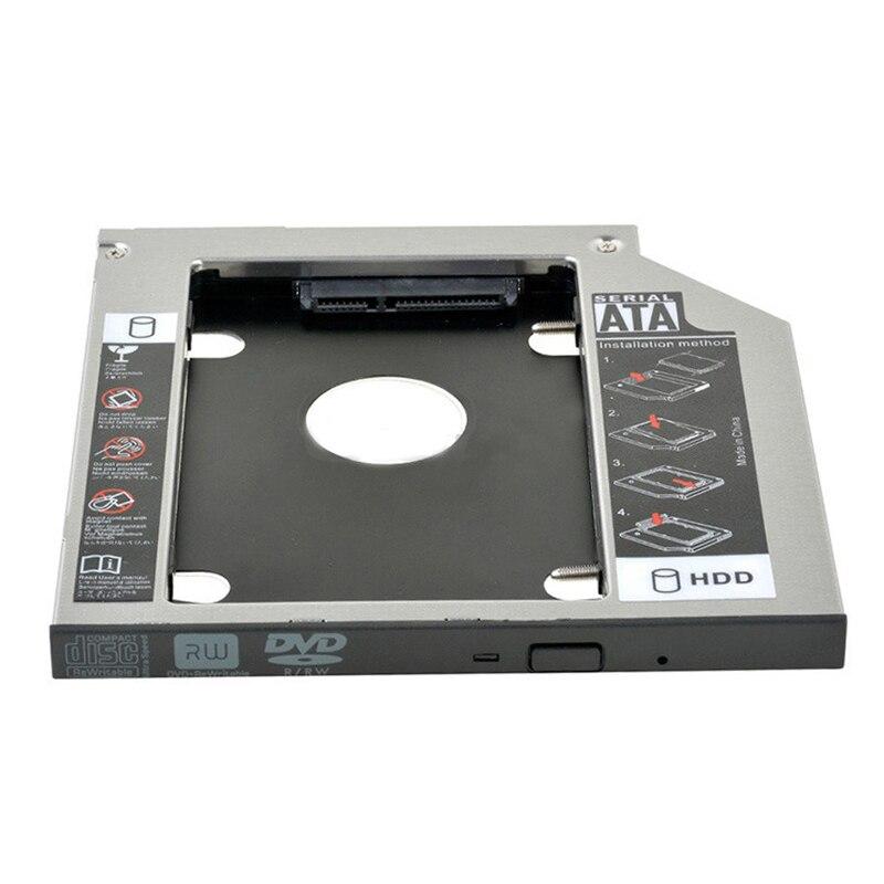 9,5 мм 2-й жесткий диск SSD HDD Caddy адаптер для Lenovo IdeaPad 100 100-15IBD 320-15IK 330-15IK + Lenovo B5400 GUE0N DU8A5SH