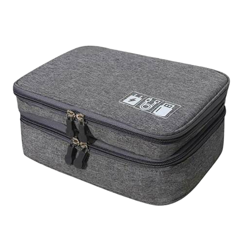 Electronic Accessories Cable Organizer Bag Travel Charger Plug Storage Case