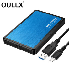 Case Hard-Drive Enclosure Support SSD Usb3.1-To-Sata-Hdd UASP 2TB OULLX Protocol Tool-Free