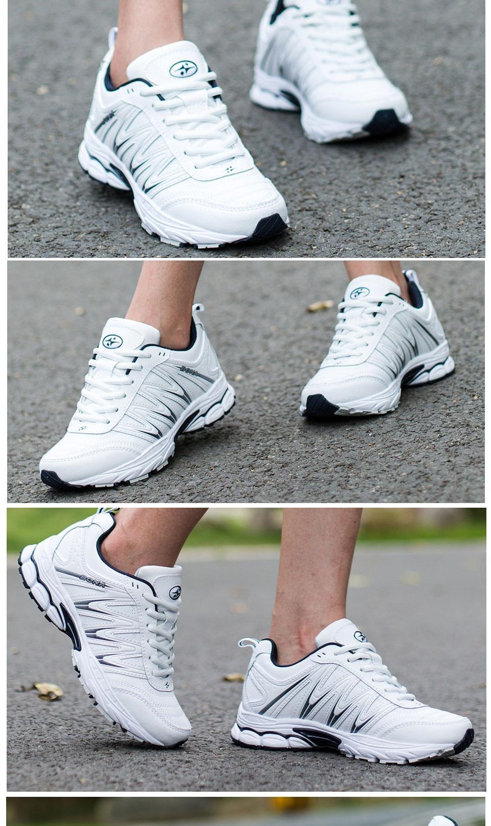 Ha33a5932802f4d1aa582154e40f5842fV BONA 2019 New Designers Casual Shoes Men Style Cow Split Sneakers Male Lightweight Outdoor Fashion Footwear Man Trendy Comfy
