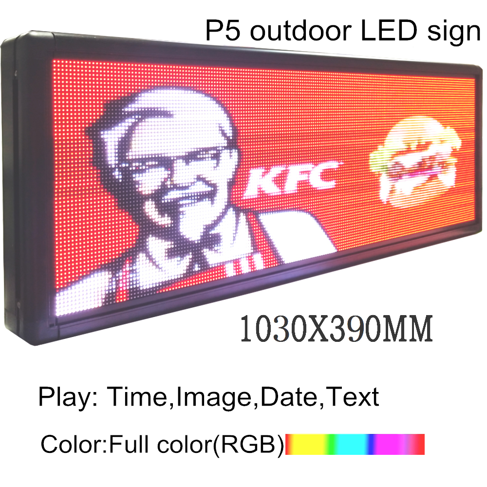 Full-Color LED  Programmable Led Sign 40