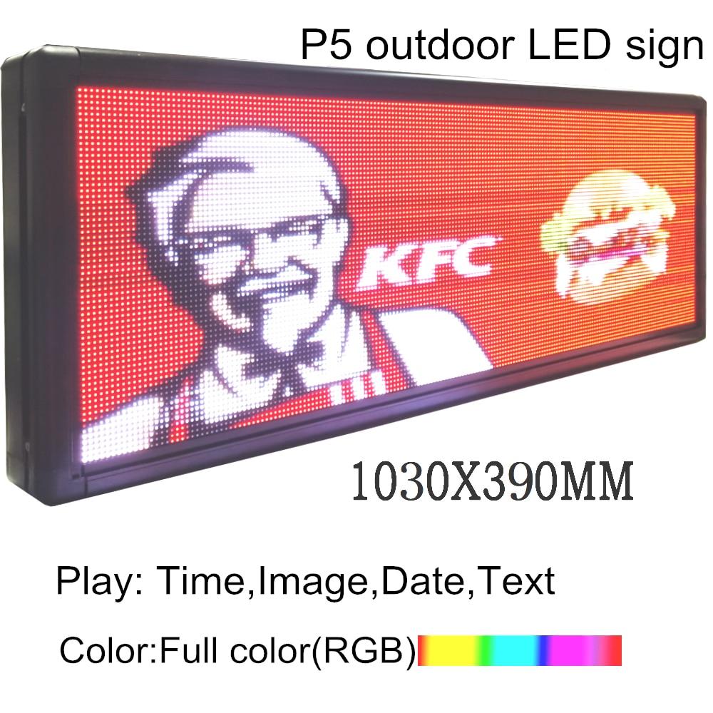 Full-Color LED  Programmable Led Sign 40
