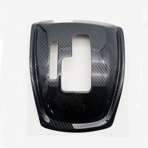 Image 4 - 1Pc 자동차 기어 시프트 노브 스티커 패널 커버 트림 왼쪽 손 드라이브 탄소 섬유 ABS 닛산 X 트레일 T32 불량 2014 2019