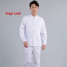 Medical Clothes Scrub Sets Surgical Gowns Doctors Nurses Short Sleeve Uniforms Dentistry Oral Clinic Pet Doctor Workwear