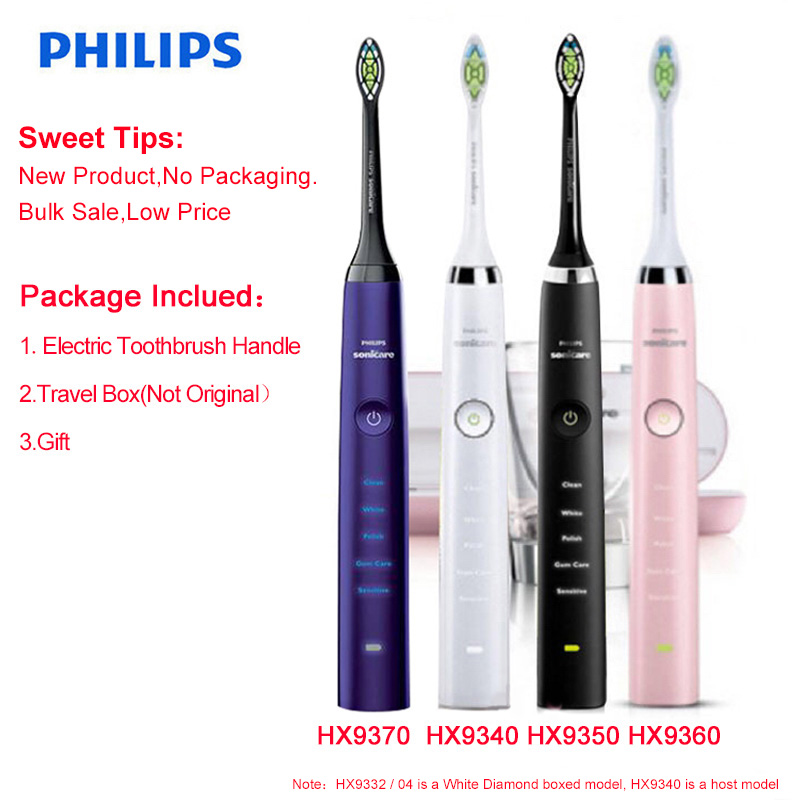 New Toothbrush Handle for Philips Sonicare Diamond Clean Rechargeable Toothbrush W/Deep Clean Mode HX9340 HX9350 HX9360 HX9370 image