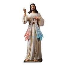 30.5cm Jesus Statue Decor Holy Figurine Jesus Sculpture Figure Catholic Christian Souvenirs Gifts